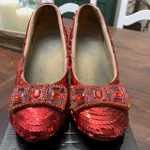 Shoes - Vintage Judy Garland Red Shoes